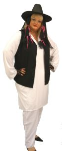 80's Boy George Costume Plus Size